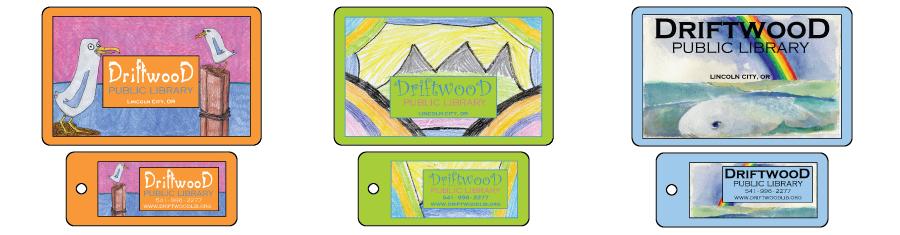 Library card design ideas