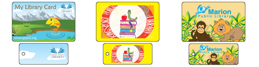 Custom Children'S Library Cards. Unique Plastic Library Cards