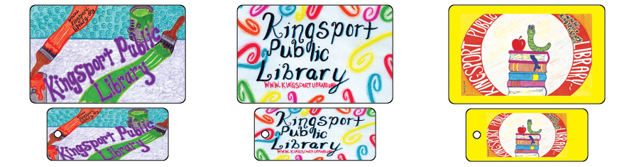 Designing a library key card ideas